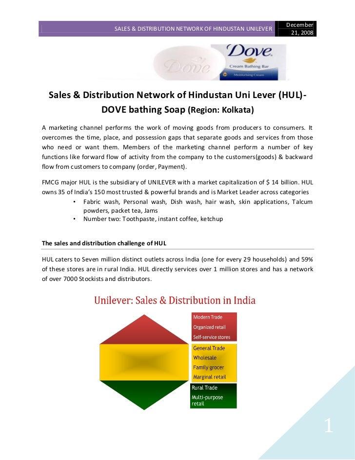 December                          SALES & DISTRIBUTION NETWORK OF HINDUSTAN UNILEVER                                      ...