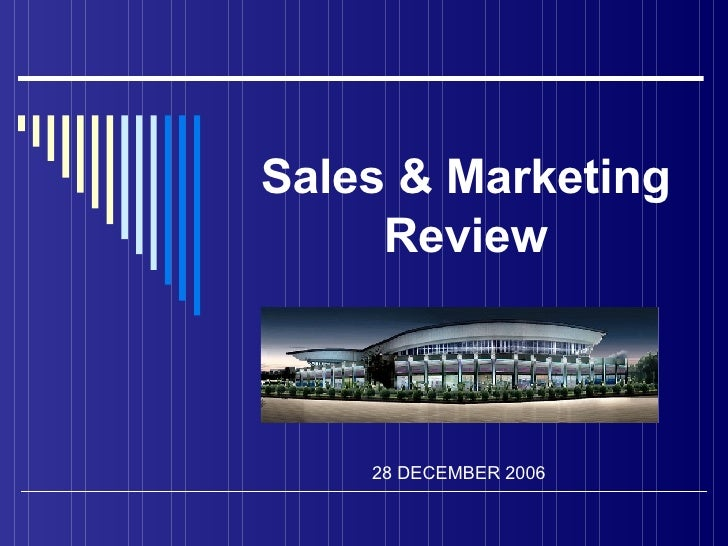 Sales & Marketing Review 2 8  DECEMBER 200 6