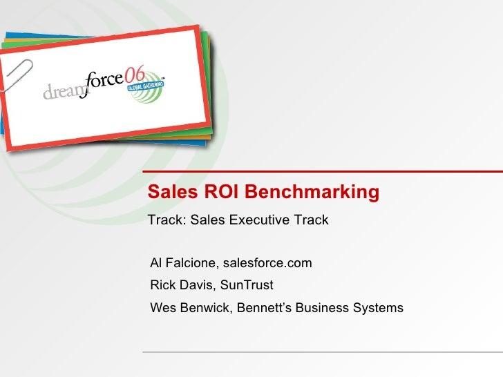 Sales ROI Benchmarking