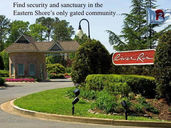 Find security and sanctuary in the Eastern Shore's only gated community…<br />