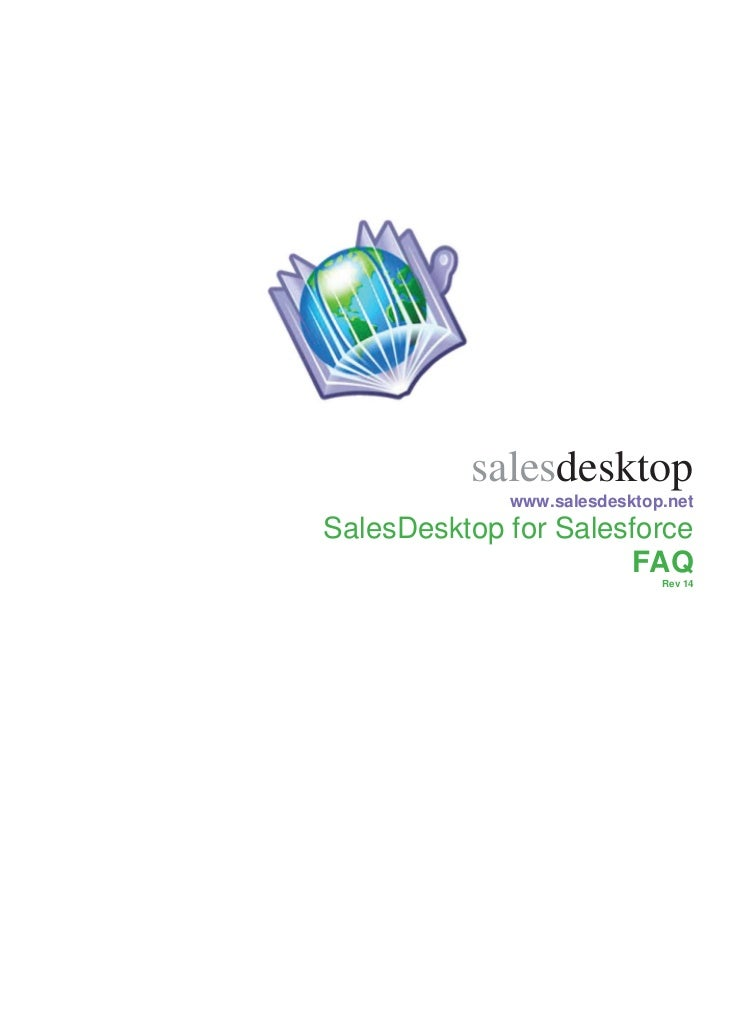 SalesDesktop FAQ