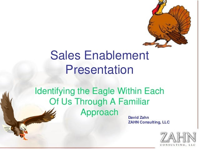 Sales enablement presentation