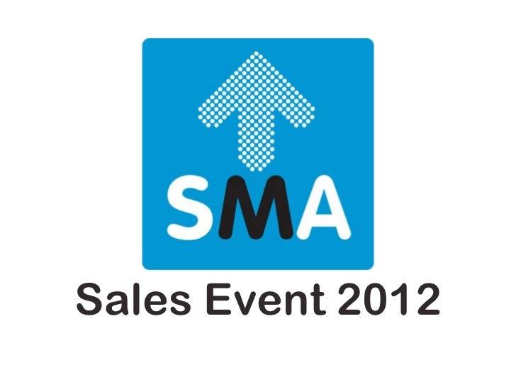 Presentatie Sales event 2012