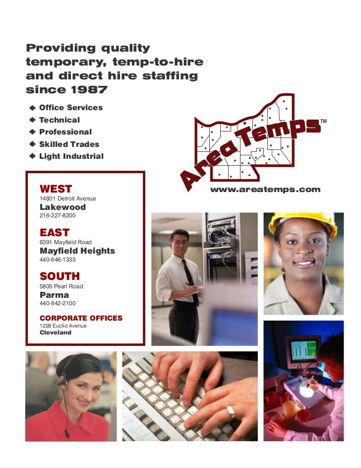 Providing qualitytemporary, temp-to-hireand direct hire staffingsince 1987 Office Services Technical                      ...