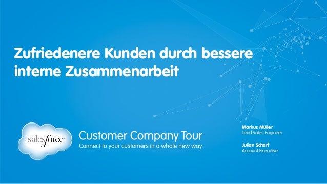 Salesforce Chatter - Zufriedenere Kunden durch bessere interne Zusammenarbeit