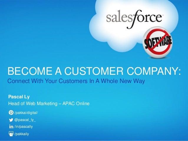 Presentation salesforce login