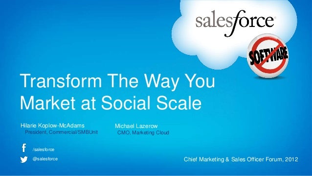 Transform the way you market at social scale