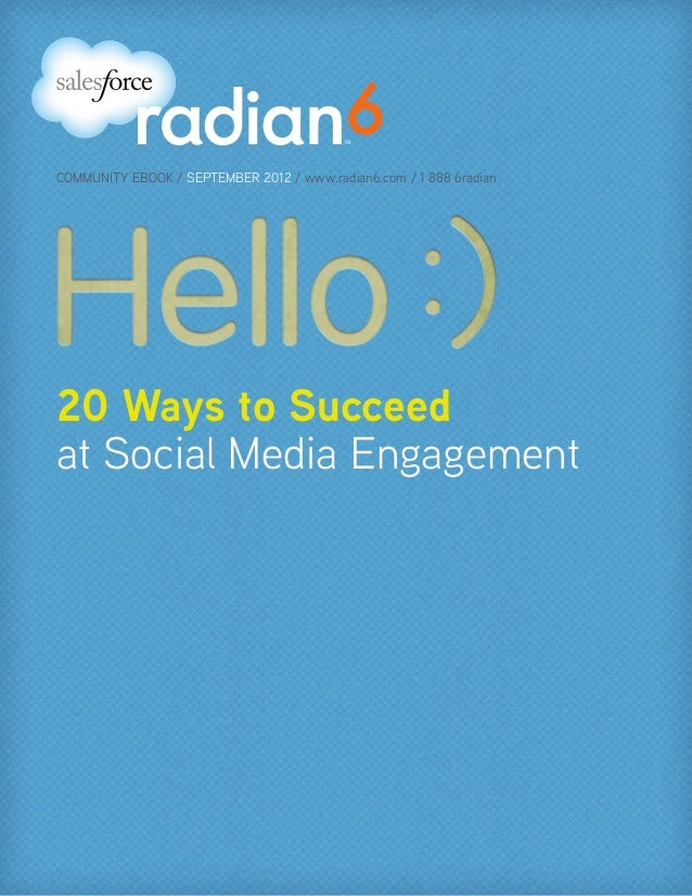 20 Ways to Succeed at Social Media Engagement