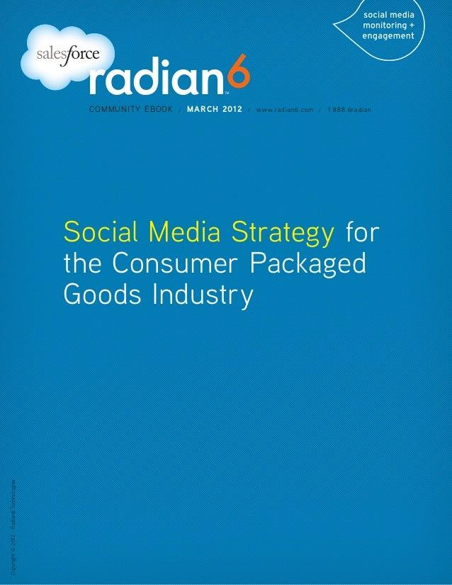 COMMUNITY EBOOK   /   MARCH 2012   /   www.radian6.com /   1 888 6radian                                          Social M...