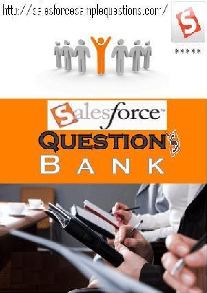 Salesforce sample questions bank