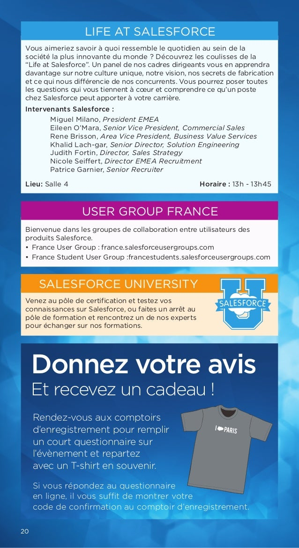Salesforce world tour paris 25 juin 2015 for Salesforce free t shirt