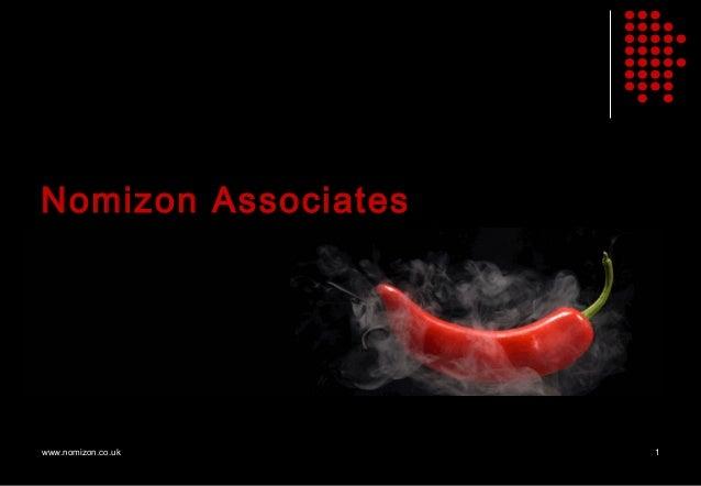 Nomizon Associateswww.nomizon.co.uk    1