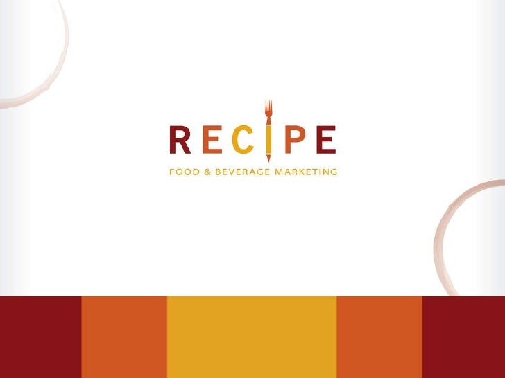 Ingredients Of A Sales Sheet For The Food And Beverage Industry