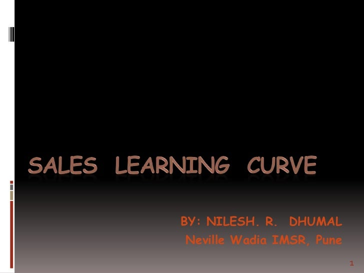 Sales  learning  curve