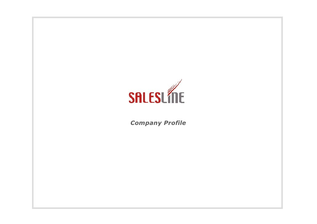 Sales Line Company Profile It