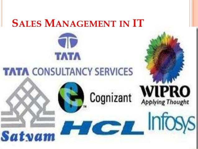 Sales management in it