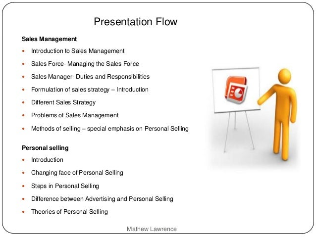 Sales Management Amp Personal Selling