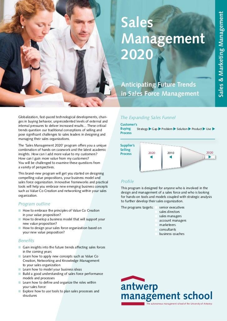 Sales Management Master Class 2020