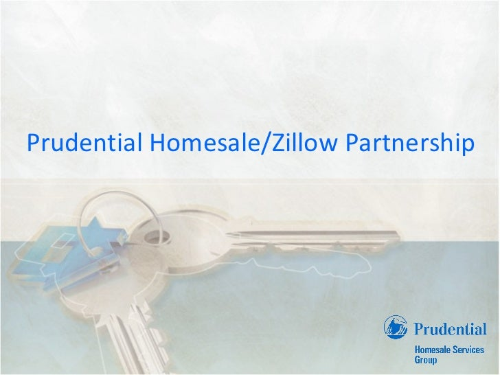 Prudential Homesale / Zillow Partnership