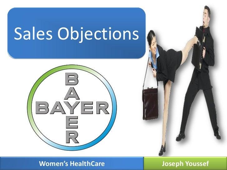 Sales Objections   Women's HealthCare   Joseph Youssef