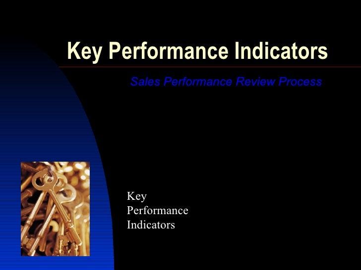 sales performance kpis