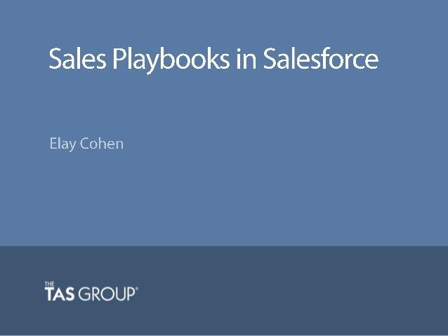 Sales Webinar | Sales Playbooks in Salesforce