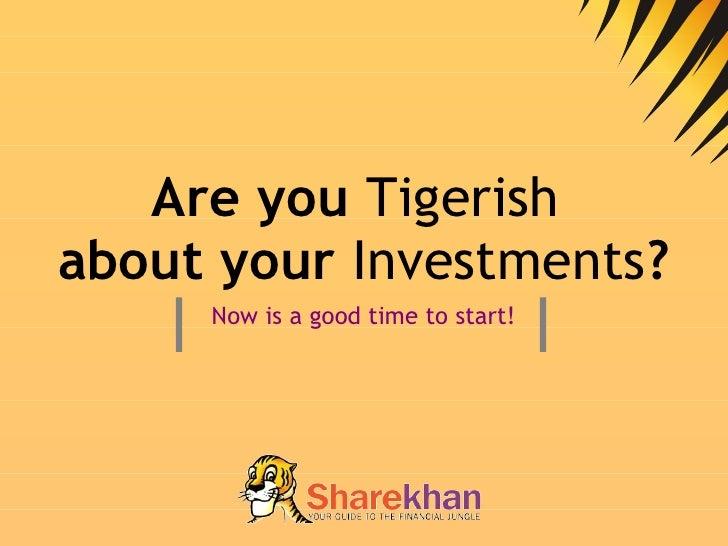 Sharekhan Sales Presentation