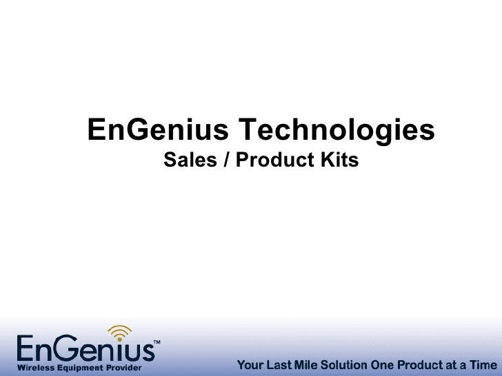 Engenius Senao Presentation