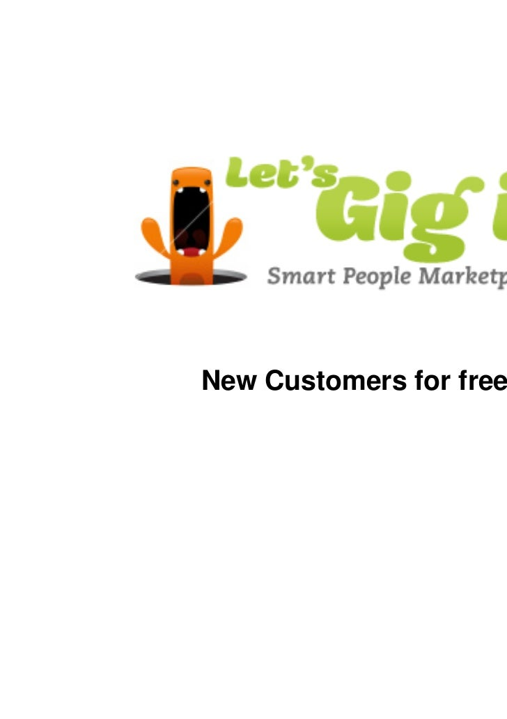 New Customers for free.