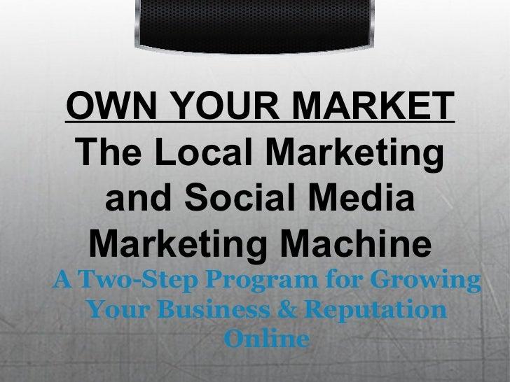 Sales Presentation Social Media