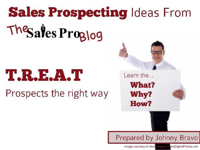 Sales prospecting ideas