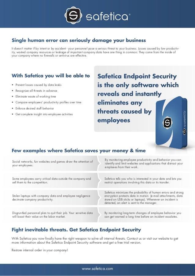 Safetica Endpoint Security by Safetica Benelux - EN