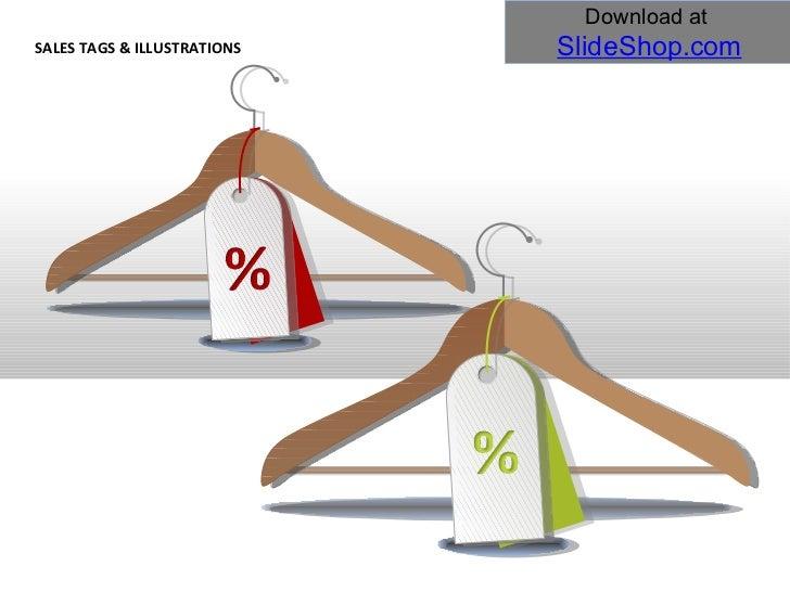 Sales tags & illustrations