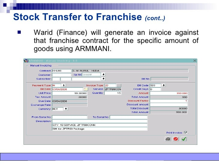 Sales Tracking System Transcript of Sales Tracking