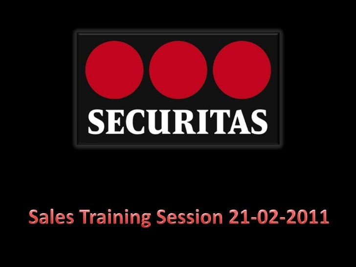 Sales Training Session 21-02-2011<br />