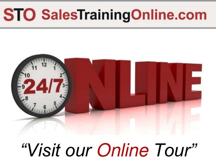 Sales Training Online.Com Tour 2011