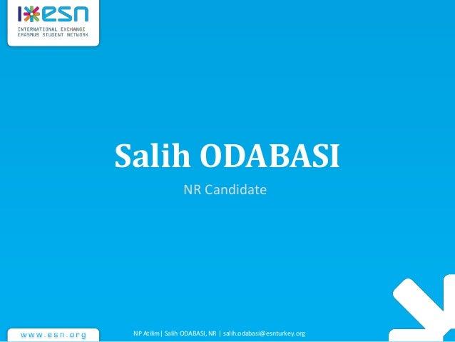 Salih nr evaluation