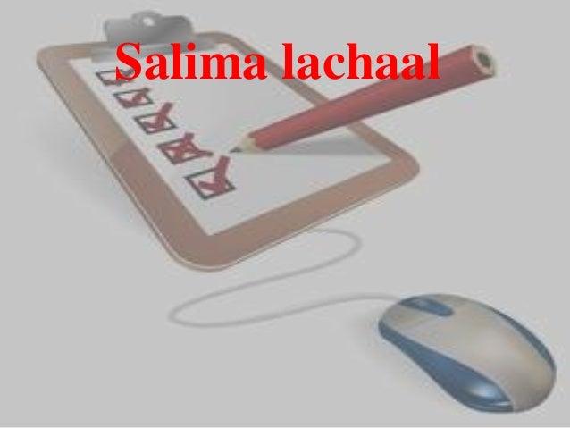Salima lachaal