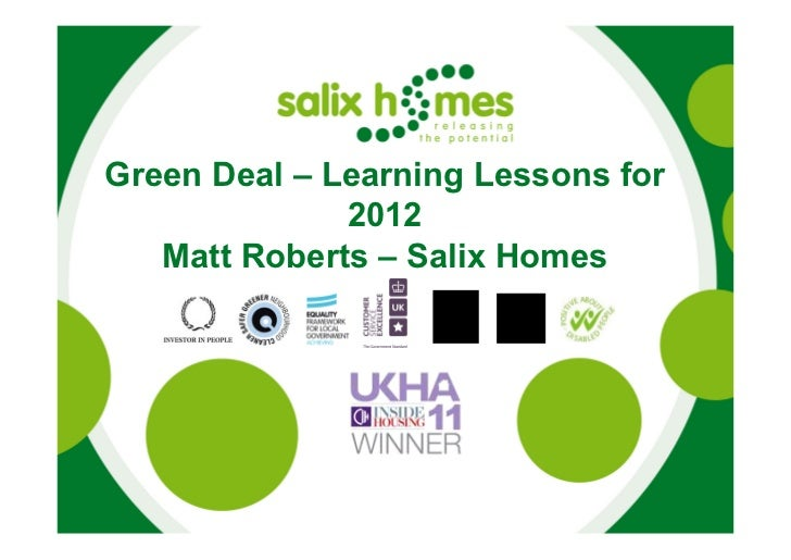 Salix presentation to LCBPC Preparing for Green Deal