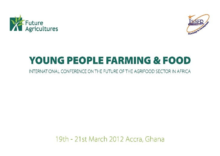 Sall The REVA plan in Senegal - does modern farming change minds of young people about agriculture?