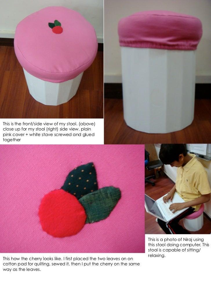 Sally cupcake stool