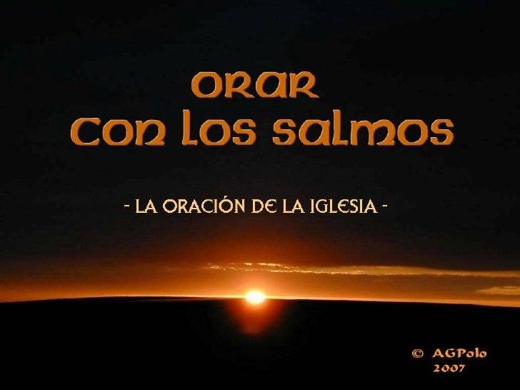Salmo 90 (89) Antonio Garcia-version adaptada