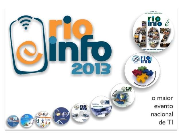 Salão da inovação Rio Info
