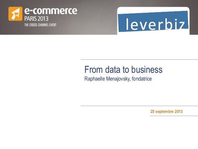 Data pour les marketers