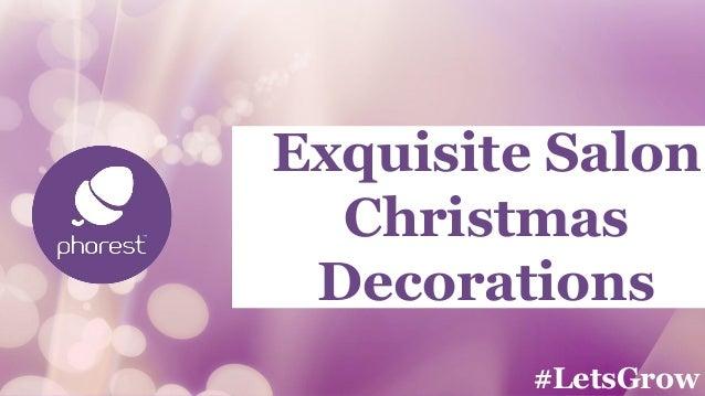 Decorating Ideas > Exquisite Salon Decorations Ideas For Christm ~ 064703_Christmas Decoration Ideas Salon
