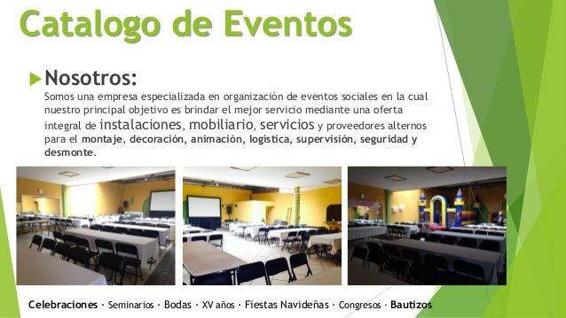 Salon de eventos mundo nick for Catalogo de salones