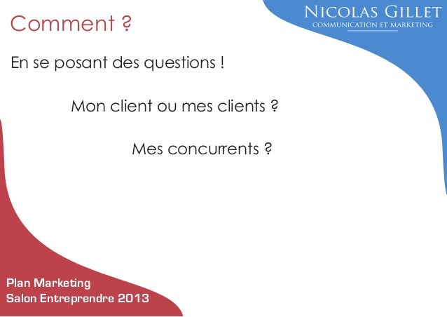 Comment crire son plan marketing au salon entreprendre de reims - Comment ranger son salon ...