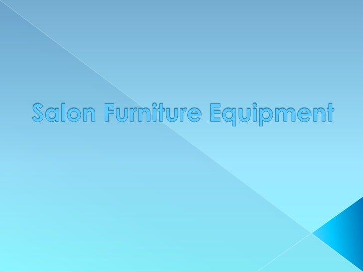 Beauty Salon Furniture Equipment