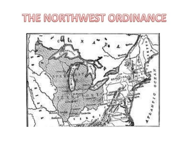 THE NORTHWEST ORDINANCE<br />