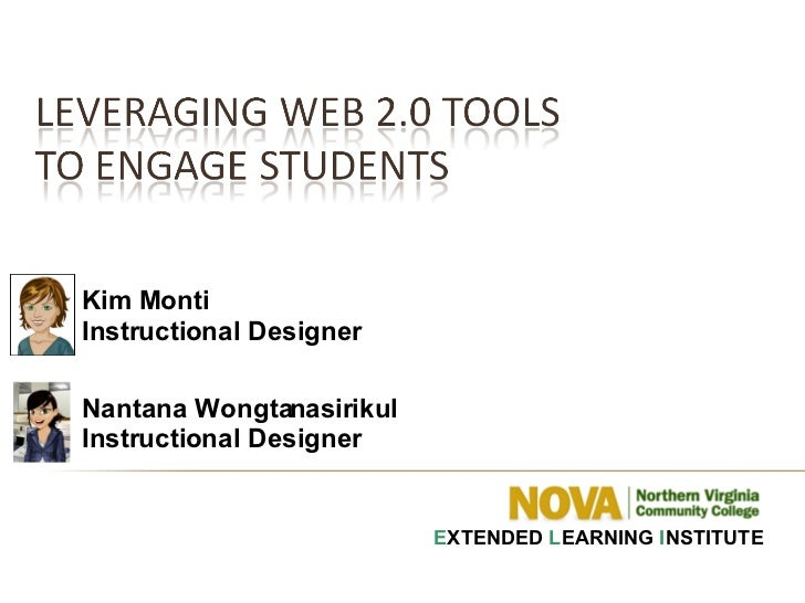 Leveraging Web 2.0 Tools to Engage Students